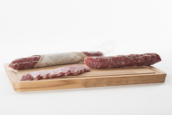 Strolghino di Culatello vacuum-sealed packaged